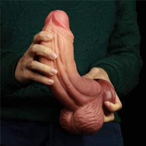 """10"""" Monster Silicone Realistic Dildo with Dual Density Anal Dildo Huge Suction Cup Dildo Big Horse Dildo Giant Anal Toy Anal Plugs Large Strap On Dragon Thick Dildo Sex Toys for Her"""
