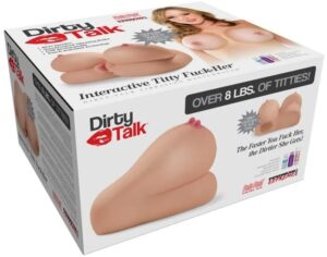 Pipedream Products Pipedream Extreme Toyz Dirty Talk Interactive Titty Fuck-her, 136 Lb