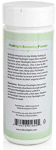Fleshlight Lube and Care Pack | 8 Ounces of Water, Renewing Powder and Fleshwash