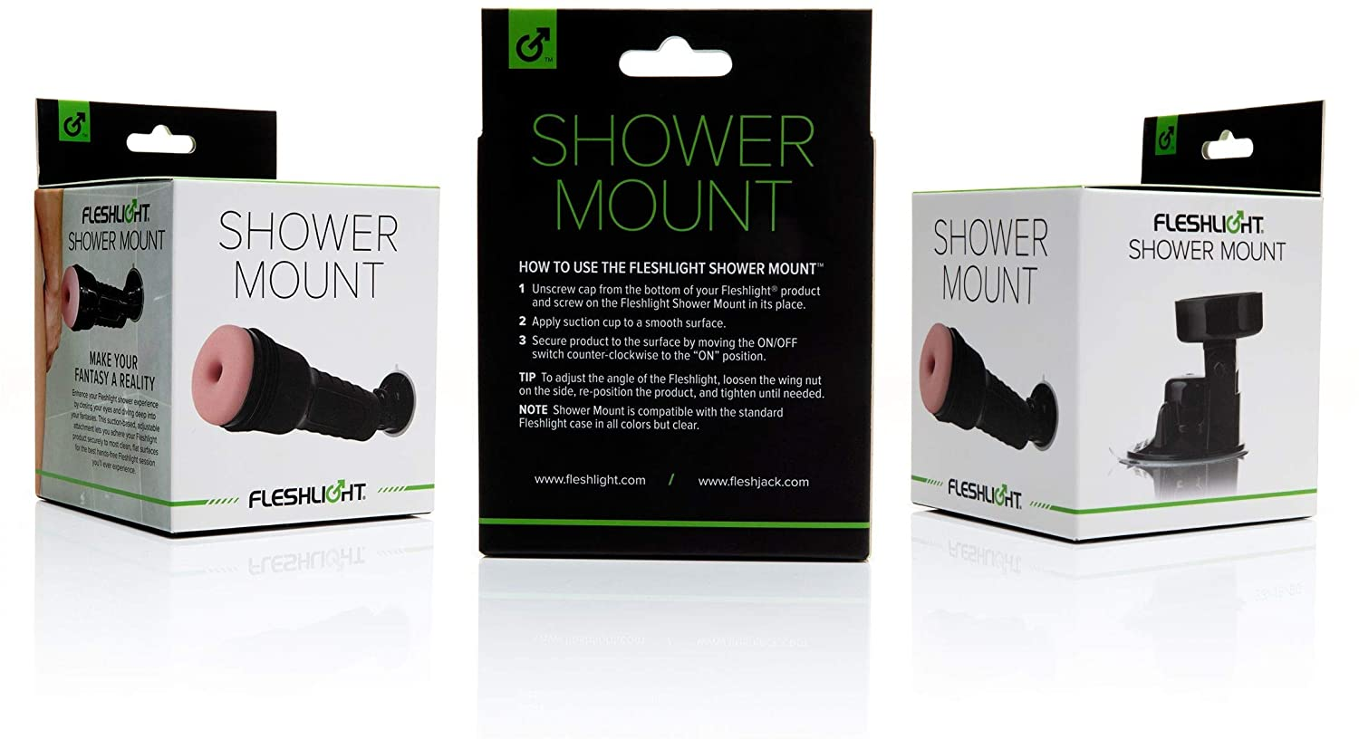 Fleshlight Shower Mount with Suction Base | Sex in The